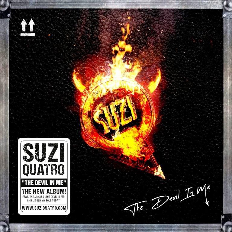 """Новый альбом Suzi Quatro """"The Devil In Me"""" 2021 Года"""