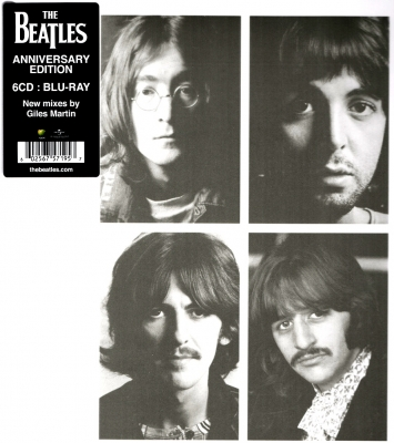 The Beatles ‎– The Beatles (The White Album) (Super Deluxe Edition, 6xCD+Blu-ray)