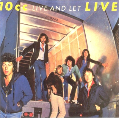 10cc ‎– Live And Let Live (2xCD)