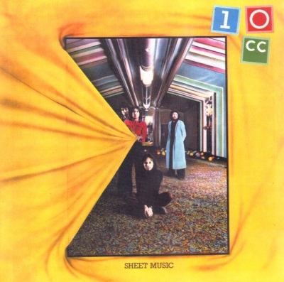 10cc ‎– Sheet Music