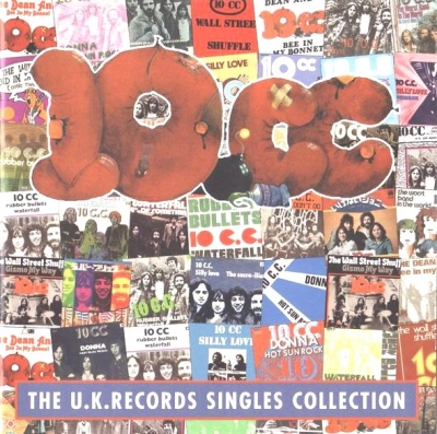 10cc ‎– The U.K.Records Singles Collection