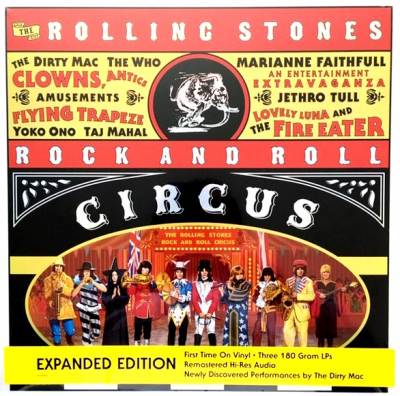 The Rolling Stones Rock And Roll Circus (3xLP, Box Set)