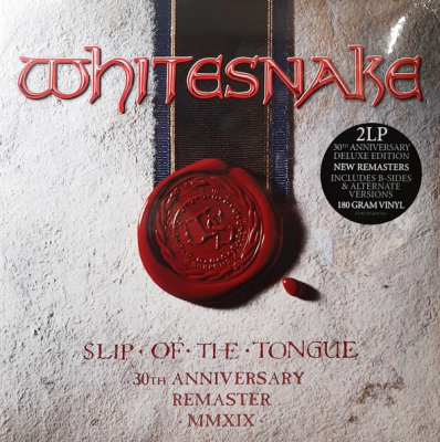 Whitesnake ‎– Slip Of The Tongue