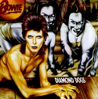 David Bowie – Diamond Dogs (Limited Edition, Reissue, Remastered, Stereo, Red, 45th Anniversary)