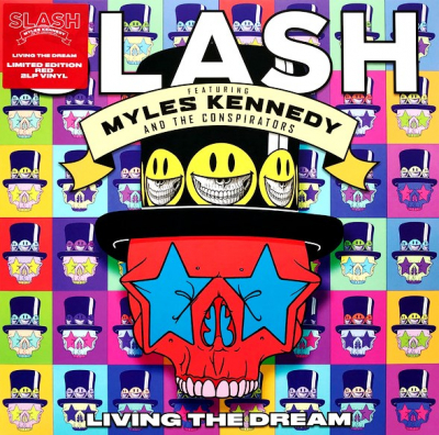Slash Featuring Myles Kennedy And The Conspirators ‎– Living The Dream (2xLP, Цветная Пластинка, Красная)