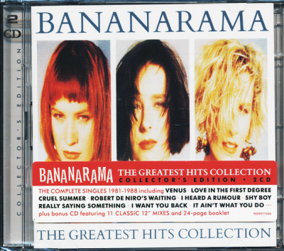 Bananarama ‎– The Greatest Hits Collection (2xCD)