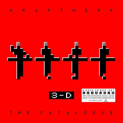 Kraftwerk ‎– 3-D - The Catalogue (8xCD)