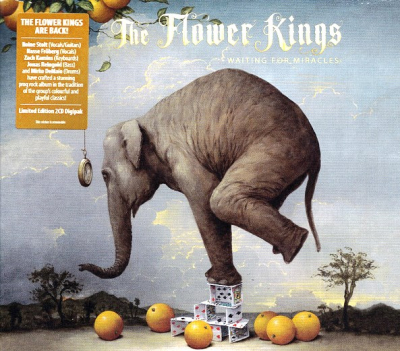 The Flower Kings ‎– Waiting For Miracles (2xCD, Limited Edition)