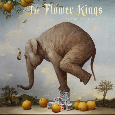 The Flower Kings ‎– Waiting For Miracles (2xLP+2xCD)