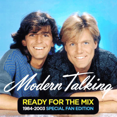 Modern Talking ‎– Ready For The Mix 1984-2003 Special Fan Edition (2xLP, Yellow And Blue Vinyl)