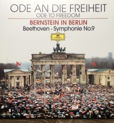 Bernstein, Beethoven ‎– Ode An Die Freiheit = Ode To Freedom (Bernstein In Berlin) - Symphonie No.9