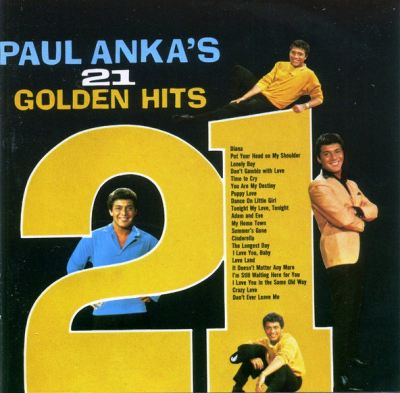 Paul Anka ‎– Paul Anka's 21 Golden Hits