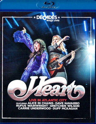 Heart ‎– Live In Atlantic City (Blu-ray)