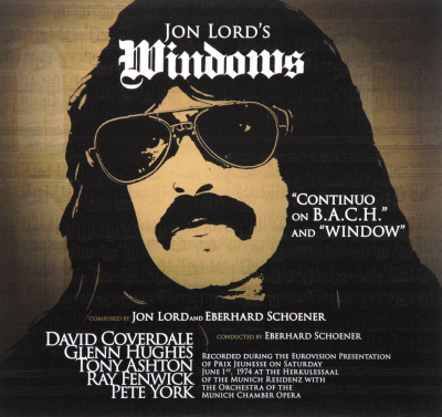 Jon Lord ‎– Windows (2xLP)