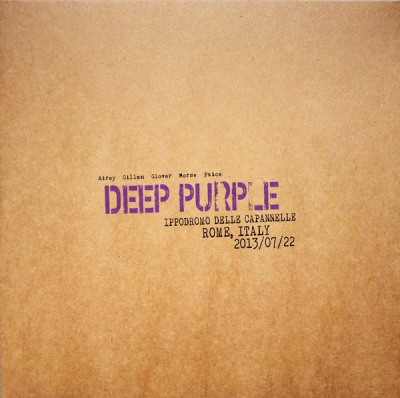 Deep Purple ‎– Live In Rome 2013 (3xLP, Limited Edition, Coloured)