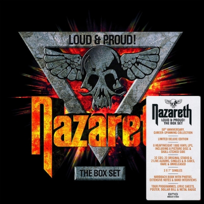 Nazareth ‎– Loud & Proud! The Box Set (32×CD, 6×LP, 3×Vinyl, 7