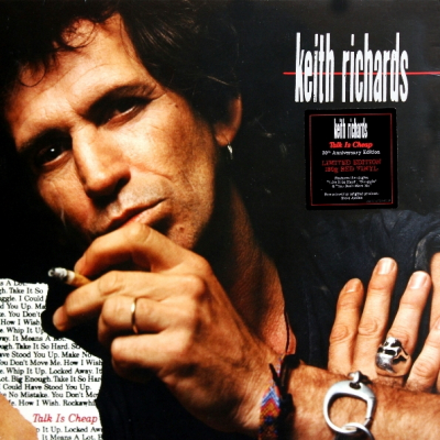 Keith Richards ‎– Talk is Cheap (Red, 180 Gr.)