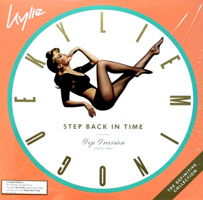 Kylie Minogue ‎– Step Back In Time (The Definitive Collection) (2xLP, Limited Edition, Mint Green)