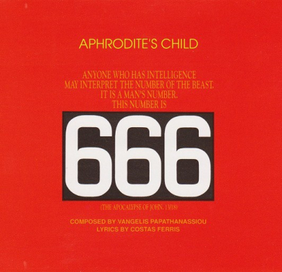 Aphrodite's Child ‎– 666 (2xCD)
