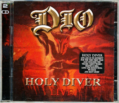 Dio ‎– Holy Diver Live (2xCD)