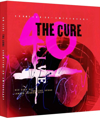 The Cure ‎– 40 Live (Curætion-25 + Anniversary) (4xCD, 2хDVD)