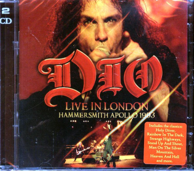 Dio – Live In London Hammersmith Apollo 1993 (2xCD)