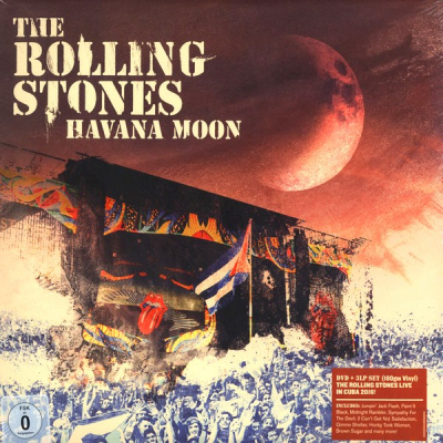 The Rolling Stones ‎– Havana Moon (3xLP+DVD)
