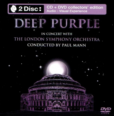 Deep Purple, The London Symphony Orchestra, Paul Mann – In Concert With The London Symphony Orchestra (CD+DVD)
