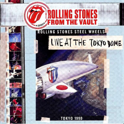 The Rolling Stones ‎– Live At The Tokyo Dome 1990 (CD+DVD)