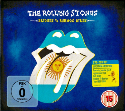 The Rolling Stones ‎– Bridges To Buenos Aires (2xCD+DVD)