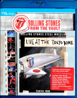 The Rolling Stones ‎– Live At The Tokyo Dome (Blu-ray)