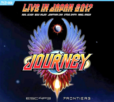 Journey ‎– Live In Japan 2017 (2xCD, Blu-ray)