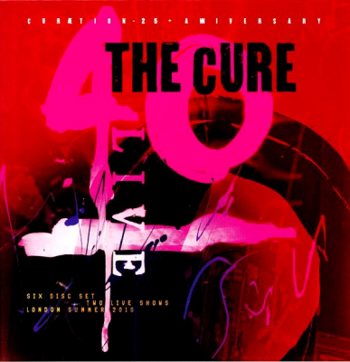 The Cure ‎– 40 Live (Curætion-25 + Anniversary) (4xCD, Blu-ray)