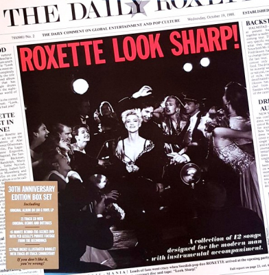 Roxette ‎– Look Sharp! (LP, CD, DVD, 30th Anniversary Edition Box Set)