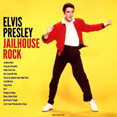 Elvis Presley ‎– Jailhouse Rock (Yellow)