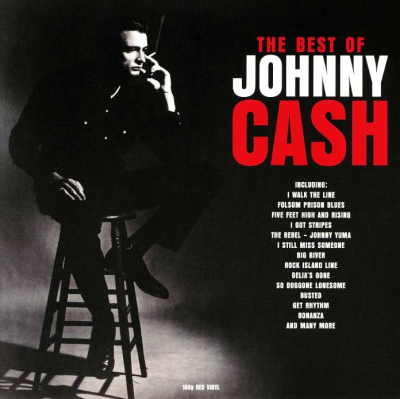 Johnny Cash ‎– The Best Of Johnny Cash (2xLP, Цветная Пластинка, Red)