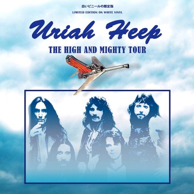 Uriah Heep ‎– The High And Mighty Tour (Limited Edition, White)