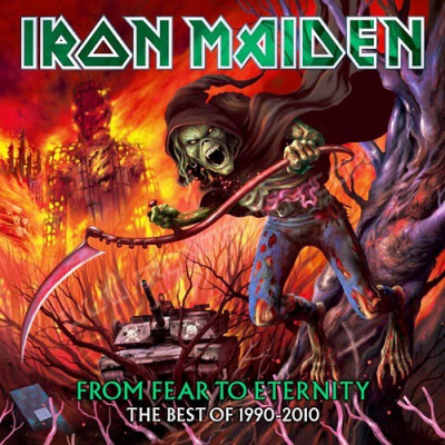 Iron Maiden ‎– From Fear To Eternity - The Best Of 1990-2010 (2xCD)