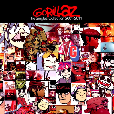 Gorillaz ‎– The Singles Collection