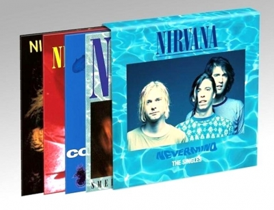 Nirvana ‎– Nevermind - The Singles (4x10