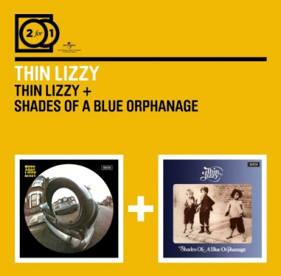 Thin Lizzy ‎– Thin Lizzy / Shades Of A Blue Orphanage (2xCD)