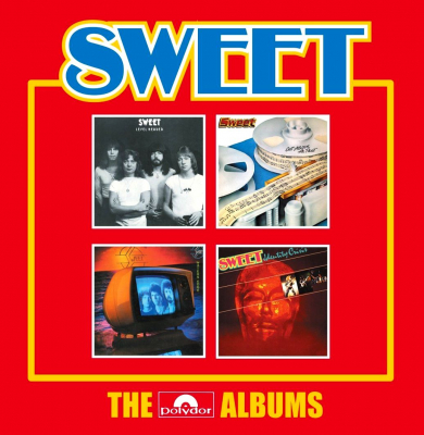 Sweet ‎– The Polydor Albums (4xCD)