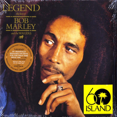 Bob Marley And The Wailers – Legend (The Best Of Bob Marley And The Wailers) (2xLP, Limited Edition, 35th Anniversary)