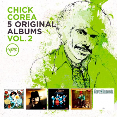 Chick Corea - 5 Original Albums Vol. 2 (5xCD)