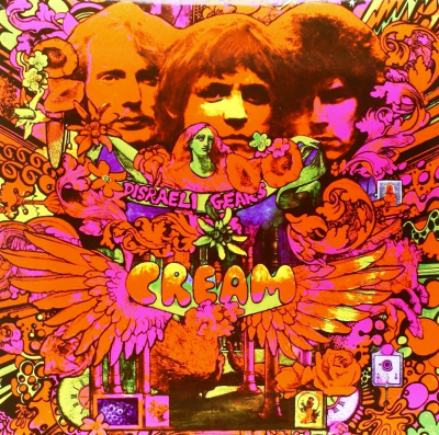 Cream – Disraeli Gears (Limited Edition, Reissue, Clear Green)