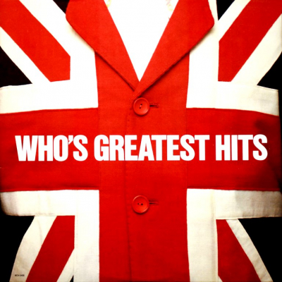 The Who ‎– Who's Greatest Hits (Limited Edition, Reissue, Remastered, Clear Red)