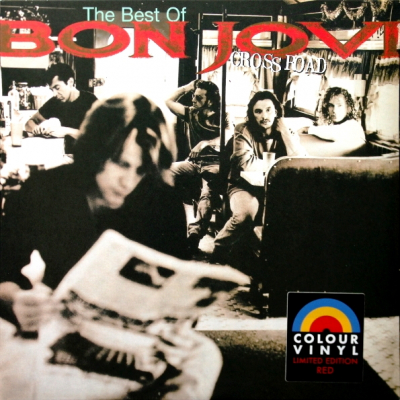 Bon Jovi ‎– Cross Road (The Best Of Bon Jovi) (2xLP, Цветная Пластинка)