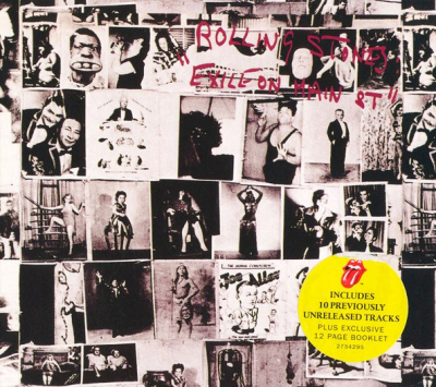 The Rolling Stones ‎– Exile On Main St (2xCD, Deluxe Edition)