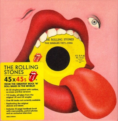 The Rolling Stones ‎– The Singles 1971-2006 (45xCD, Box Set)