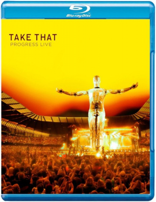 Take That ‎– Progress Live (Blu-ray)